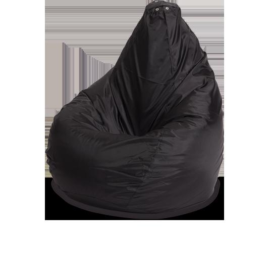 Кресло-мешок «Груша», XL, оксфорд, Черный