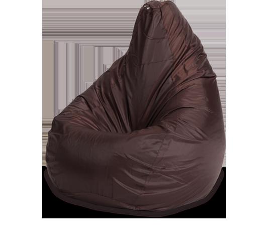 Кресло-мешок «Груша», XL, оксфорд, Коричневый