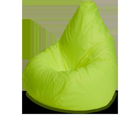 Кресло-мешок «Груша», XXXL, оксфорд, Лайм