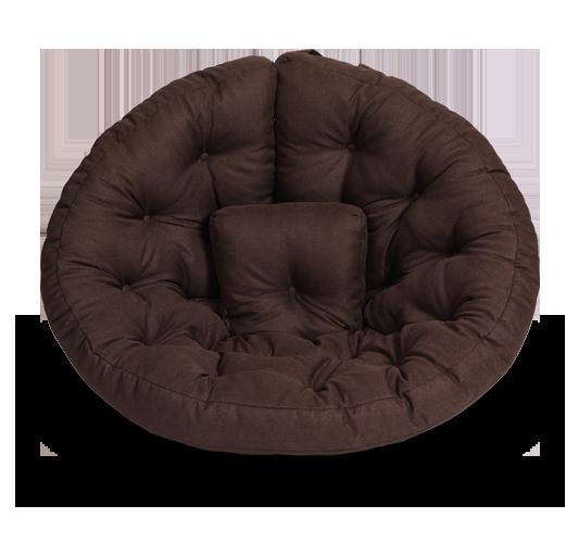 Кресло-матрас «Оустер» (Футон), жаккард, Тёмный шоколад