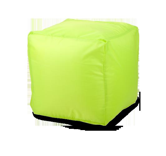 Пуфик «Куб», оксфорд, Лайм